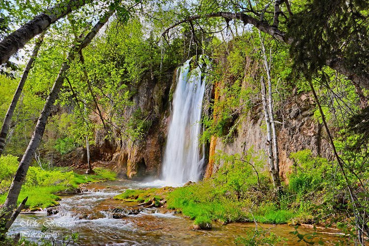 Spearfish Fall, Spearfish Canyon, SD